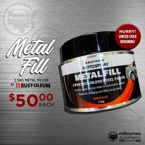 Motospray Metal Fill - 2.5kg