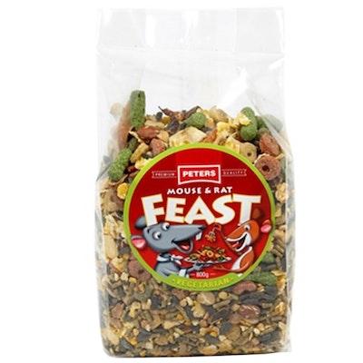 Peters Mouse & Rat Feast Vegetarian Food Chew 6 x 800g