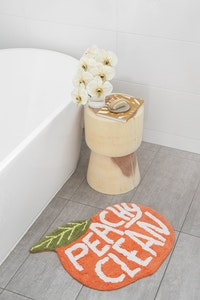 Peachy Clean | Bath Mat