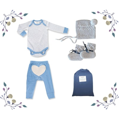 On Chic Baby Clothes On Chic Baby Boy Gift Set - 0-3 Months - Blue