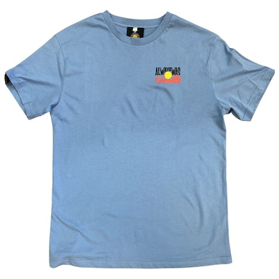 Clothing The Gaps       Limited Ed. BLUE 'Always Was, Always Will' Be Tee