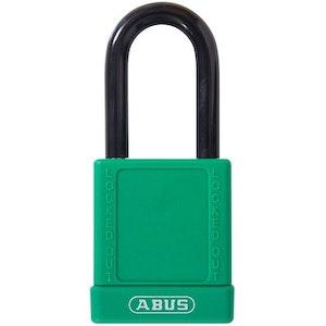 ABUS Safety Lockout Padlock-Green LOTO