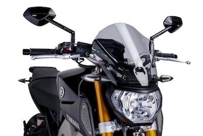 Puig New Generation Touring Screen To Suit Yamaha MT-09 2013-2016 (Light Smoke)