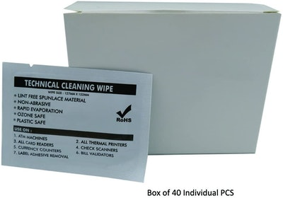 BOOC 99% Isopropyl Alcohol Cleaning Large Non Woven Wipes