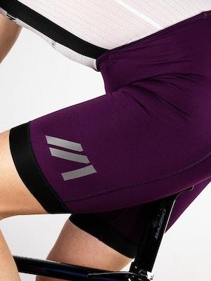 Twenty One Cycling Factory Midweight culotte - Purple - Men