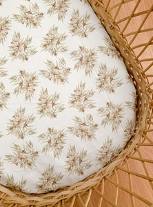 Grubbee Vintage Eucalyptus Fitted Cot Sheets