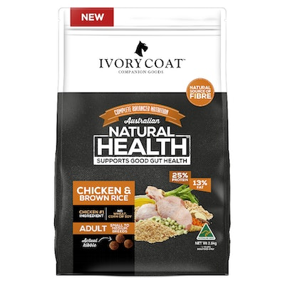 IVORY COAT Adult Chicken & Brown Rice Dry Dog Food