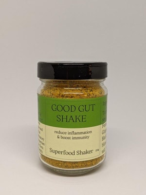 Flavour Pop Good Gut Shaker Jar - Superfood Seasoning for Wellbeing 120g
