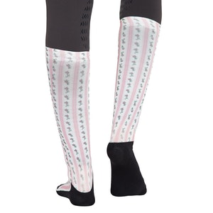 Equine Couture Ladies Isabel Padded Knee Hi Boot Socks