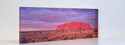 AUSTRALIAN ICON - Acrylic Desk Block