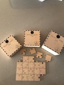Jigsaw Puzzle - Faceless 81 Pieces