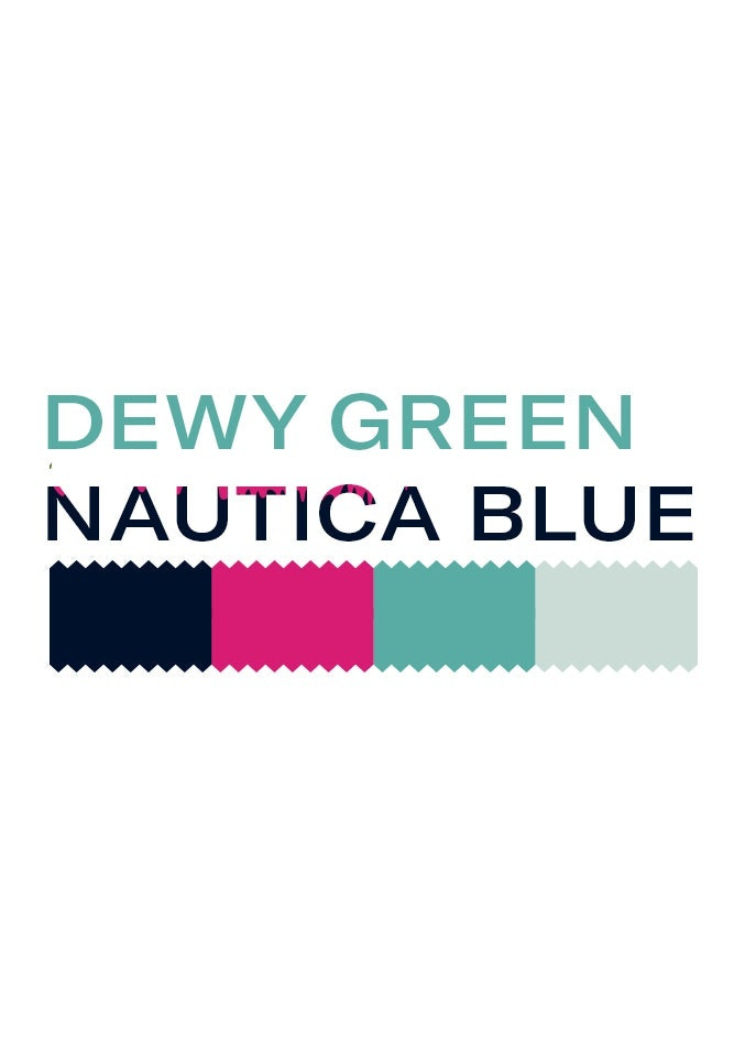 Dewy Green Nautica Blue