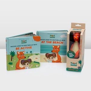 Mizzie the Kangaroo The Deluxe Baby Shower Gift Set