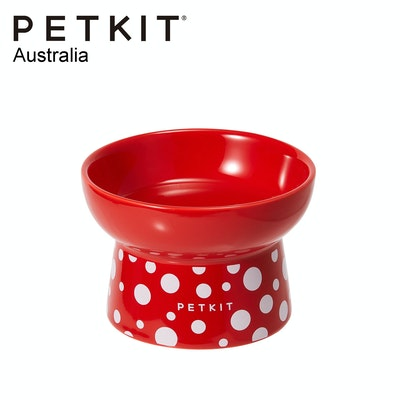PETKIT CERASPOT Ceramic Pet Feeding Bowl - Red