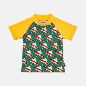 UPF50+ Rash Vest - Little Sausage Sizzle