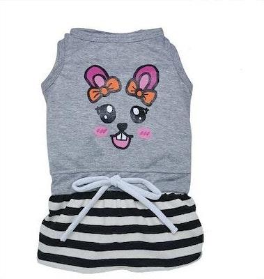 DoggyDolly BIG DOG - Bunny Face Play Dress