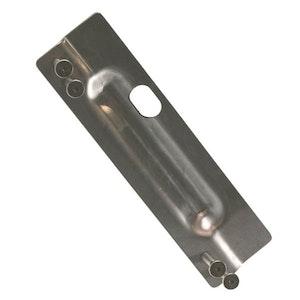 Dorma SS092 Strike Shield 2mm Stainless Steel Blocker Plate