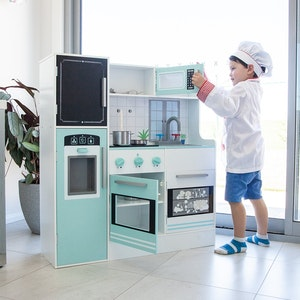 Lifespan Kids Bon Appetit Aqua Interactive Play Kitchen