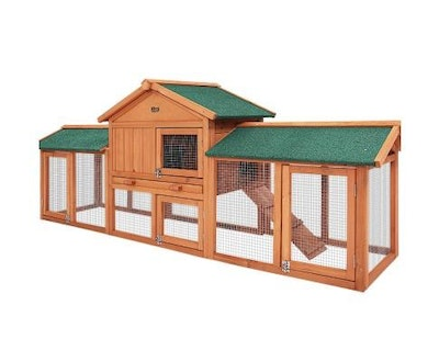 House of Pets Delight Chicken/Rabbit Hutch - Coop with Run