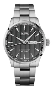 Mido Multifort Chronometer - Stainless Steel - Stainless Steel Strap