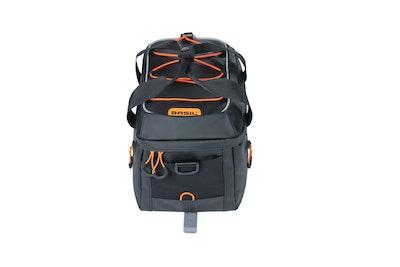 Basil Miles Tarpaulin Trunkbag MIK Black Orange 7L