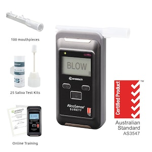 Andatech Surety Alcohol And Drug Testing Kit Combo