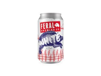 Feral White Can 375mL