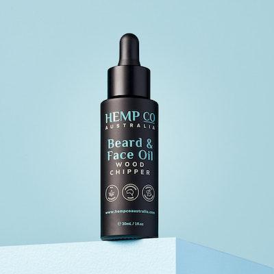 Hemp Co Australia  Beard & Face Oil   Wood Chipper
