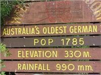 The  oldest German town in Australia