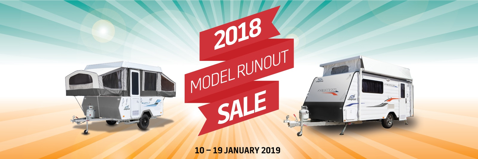 2018 Model Runout Sale