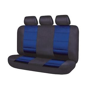 Universal El Toro Series Ii Rear Seat Covers Size 06/08H | Black/Blue