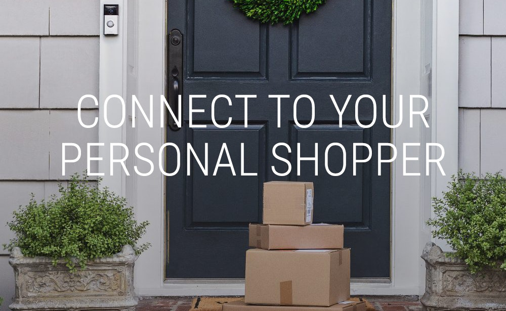 Connect to your Smart Home Personal Shopper