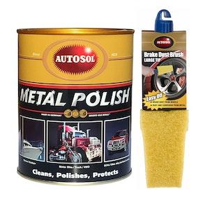 Metal Polish 1kg + FREE Brake Dust Brush