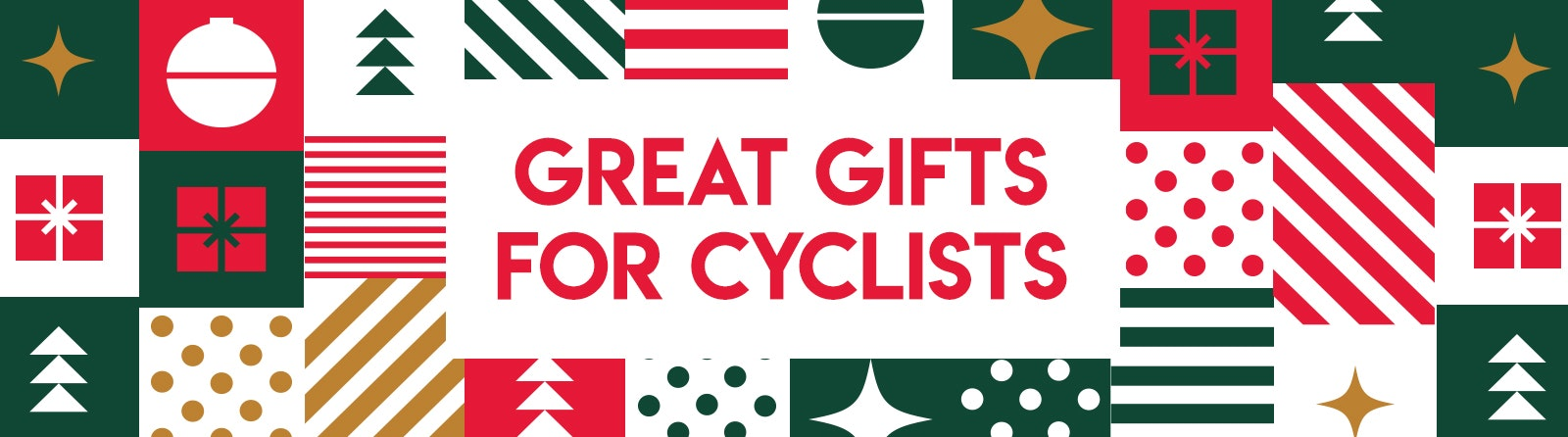 Great Gifts for Cyclists banner