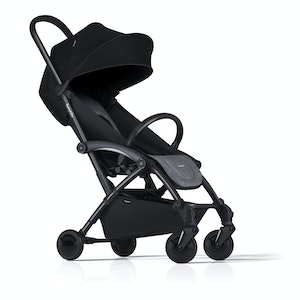 Bumprider Connect Stroller - Grey on Black