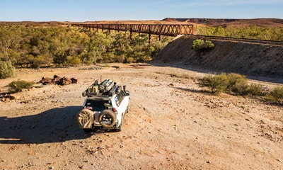 Tackling the Outback's Oodnadatta Track