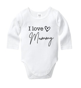 I Love Mummy Onesie