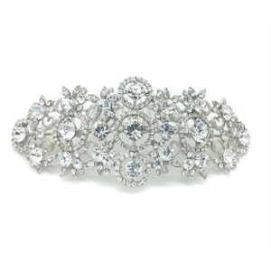 Winters dream wedding hair comb