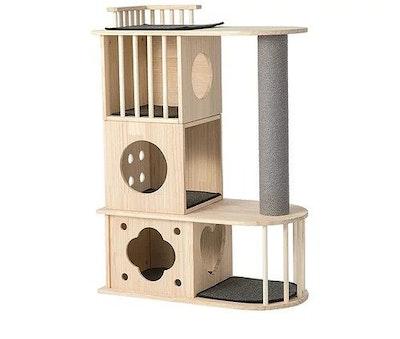 Honeypot CAT® Solid Wood Cat Tree 1.12m