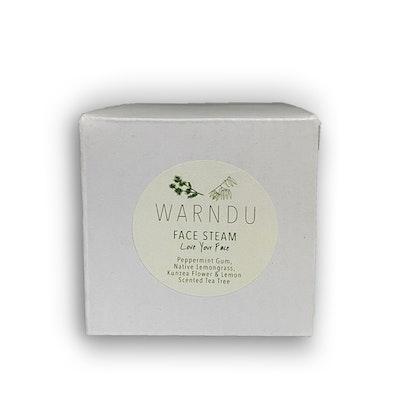 Warndu Pty Ltd Bush Botanical Face Steam, Love Your Face ~ 50g