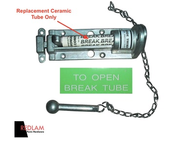 BDS Replacement Ceramic Break Tube For Redlam Panic Bolts
