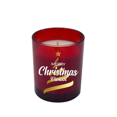 Symbolic Studio Christmas Red - Hand Poured Soy Candle