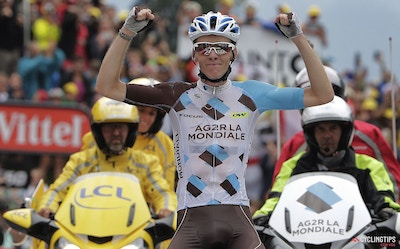 France, at last! Bardet solos to stage win as Froome bloodied in wild day at Tour de France
