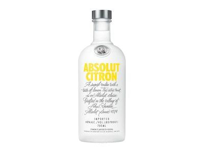 Absolut Citron Vodka 700mL