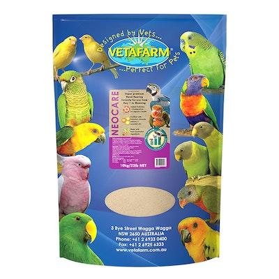 Vetafarm Neo Care Baby Bird Parrot Hand Rearing Formula Food - 3 Sizes