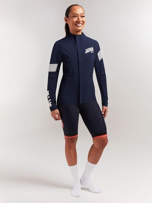 Black Sheep Cycling Women's Elements Micro Jacket - Japan Navy