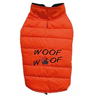 DoggyDolly SMALL DOG - Lightweight Orange Puffer