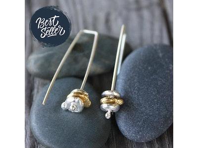 Hanging Rock Earring