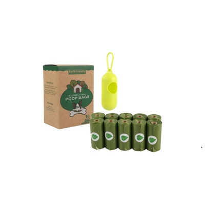 Poop Bag and Dispenser - 10 Roles+1 Dispenser | Daniel's Pet Emporium