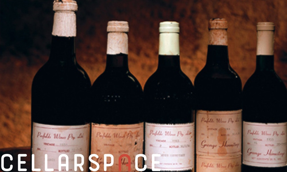 What is a bottle of Penfolds Grange worth?